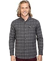 VISSLA - Carpenteria Long Sleeve Plaid Flannel
