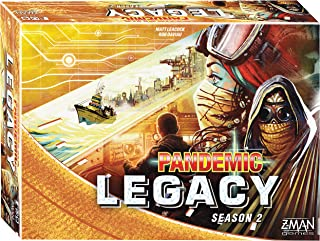 Pandemic Legacy: Season 2 Yellow Board Game