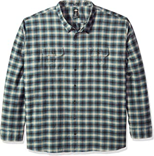 Men's Long Sleeve Relaxed Fit Flannel Shirt Big-Tall 6X