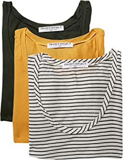 Project Social T - Scoop Neck Tees Set