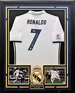 9c7cac1461d Cristiano Ronaldo Autographed   Custom Framed Jersey with PSA DNA  Authenticity