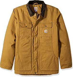 Men's Full Swing Relaxed Fit Washed Duck Insulated...