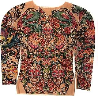 mesh tattoo shirt