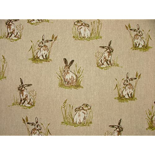 Farm Labels Sheep Printed On Fabric Panel Make A Cushion Upholstery Craft