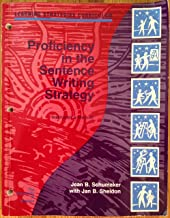 Proficiency in the Sentence Writing Strategy: Instructor's Manual