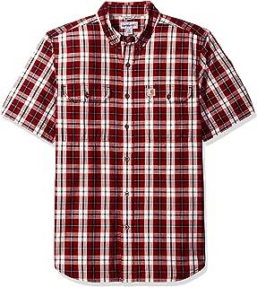 Men's Fort Plaid Short Sleeve Shirt