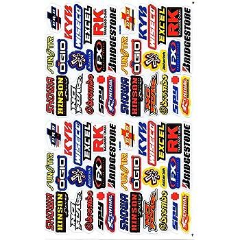 Variante 5 Autocollant Sticker Sponsors R/églage Tuning Rally Voiture mod/èle Moto 1 Page 27 x 18 cm pour lext/érieur