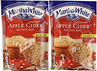 Martha White Apple Cider Muffin Mix 7 Oz. Pouch (Pack of 4)