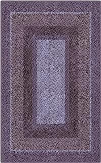 Brumlow Mills Purple Braided Printed Area Rug, 2'6