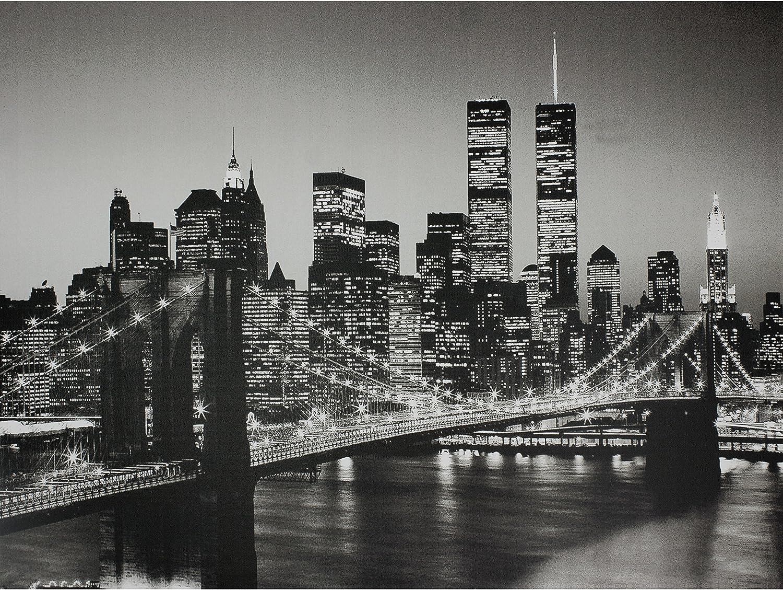 Oriental Furniture CanArtNY3 Brooklyn Bridge Wall Art