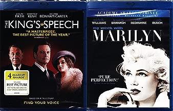 The King's Speech & My Week With Marilyn Monroe Drama Movie Set