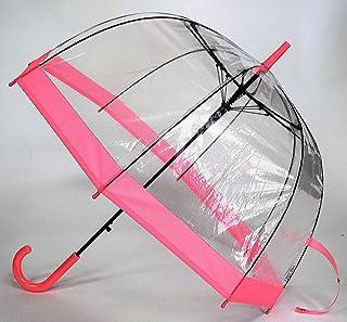 CAFE DIMLY カフェディムリー バードケージ バイカラーPK ピンク レディース傘 ジャンプタイプ 折れにくいグラスファイバー骨使用 高品質設計軽量 定番のバイカラー