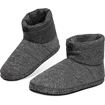 Dunlop Slippers for Men, Fluffy Mens Slipper, Size 7-12, Warm and Cosy Winter House Boots, Funny Presents for Him, 4 to Choose from