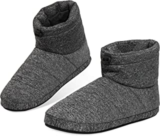 Dunlop Slippers for Men, Fluffy Mens Slipper, Size 7-12, Warm and Cosy Winter House Boots, Funny Presents for Him, 4 to Ch...