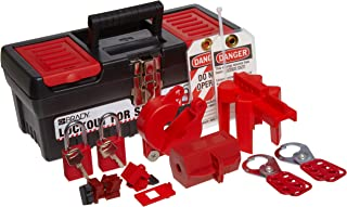Brady Personal Lockout Tagout Kit for Common Breakers, Valves, and Plugs, Includes 2 Safety Padlocks - 104795