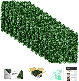 Best artificial boxwood hedge roll Reviews