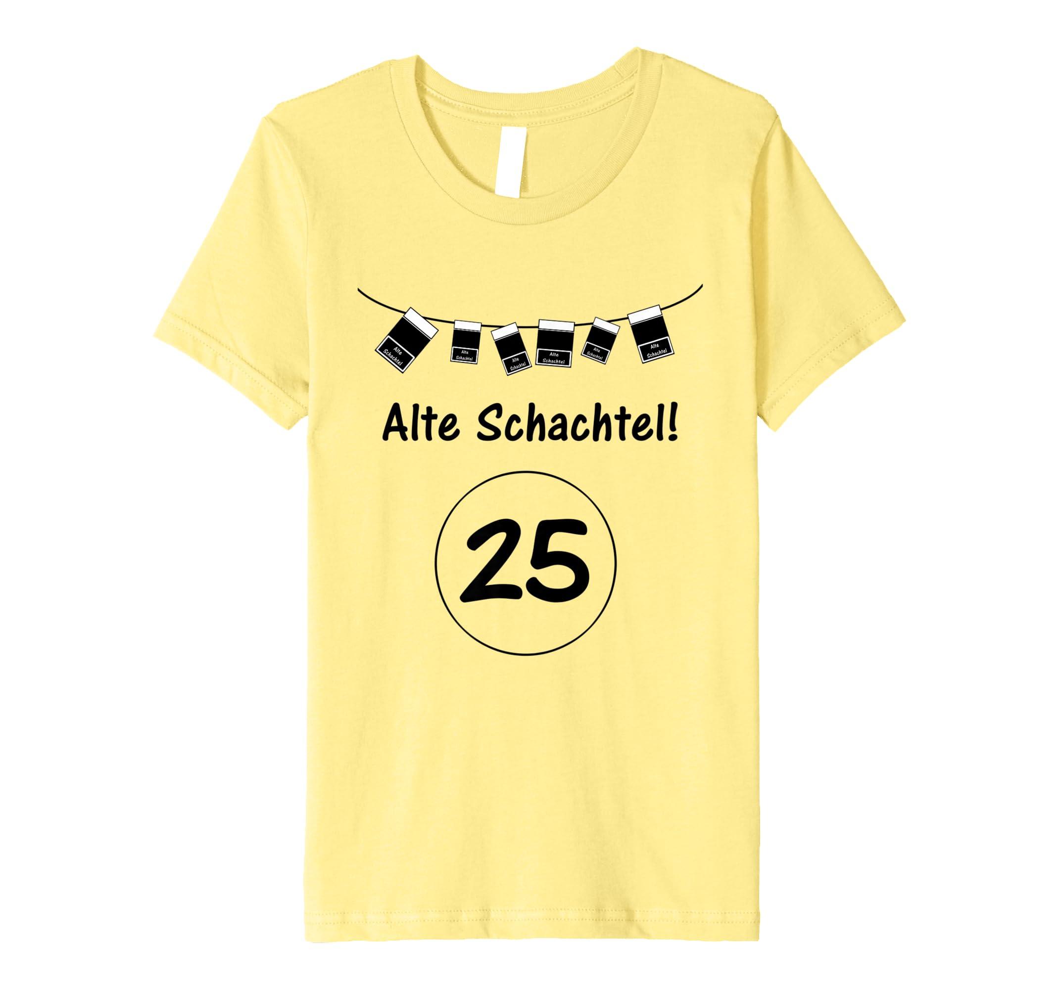 Alte Schachtel 25 Schachtelkranz T Shirt Zum Beschriften Amazonde