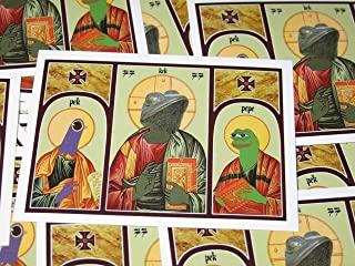 10X GOODS Pepe The Frog / God Kek / & Trash Dove Sticker Pack (20 set) Real Meme Magic In These For Our 4chan /pol/ Memelords and To Honor Our Meme War Veterans