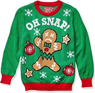 Hybrid Apparel Boys' Ugly Christmas Sweater