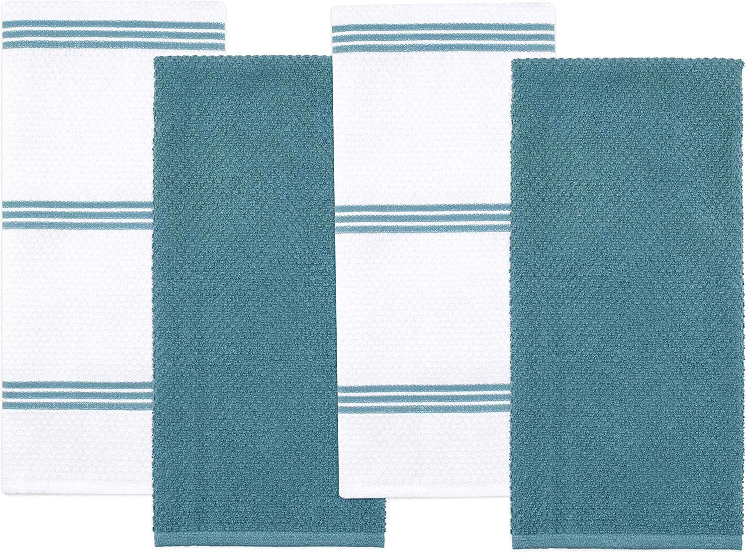 Columbus Mall Sticky Toffee Cotton Terry Kitchen Dish 5 popular Towel x Pack 28 1 in 4