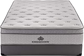 Kingsdown Mezzo 14.5-inch Plush Luxury Euro Top Mattress Queen
