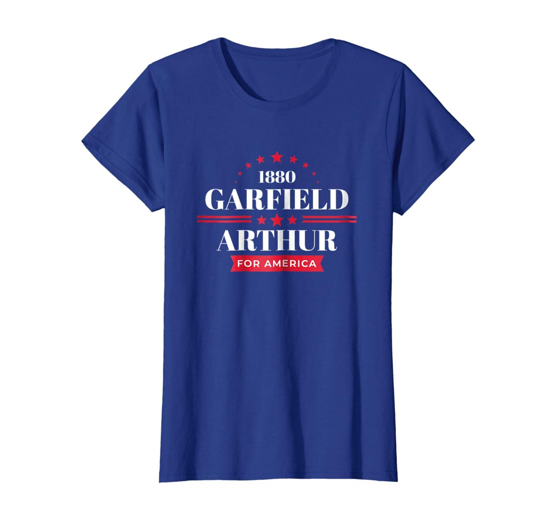 Amazon Com James Garfield Shirt 1880 Republican Campaign T Shirt Clothing