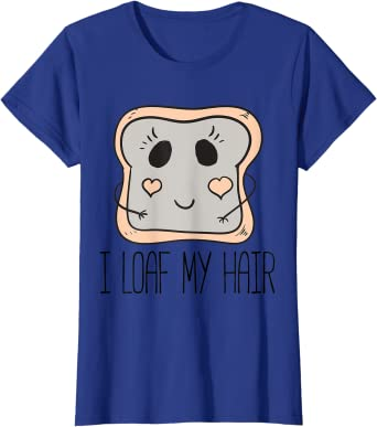 I Loaf My Hair: African American Queen T-shirt for Girls