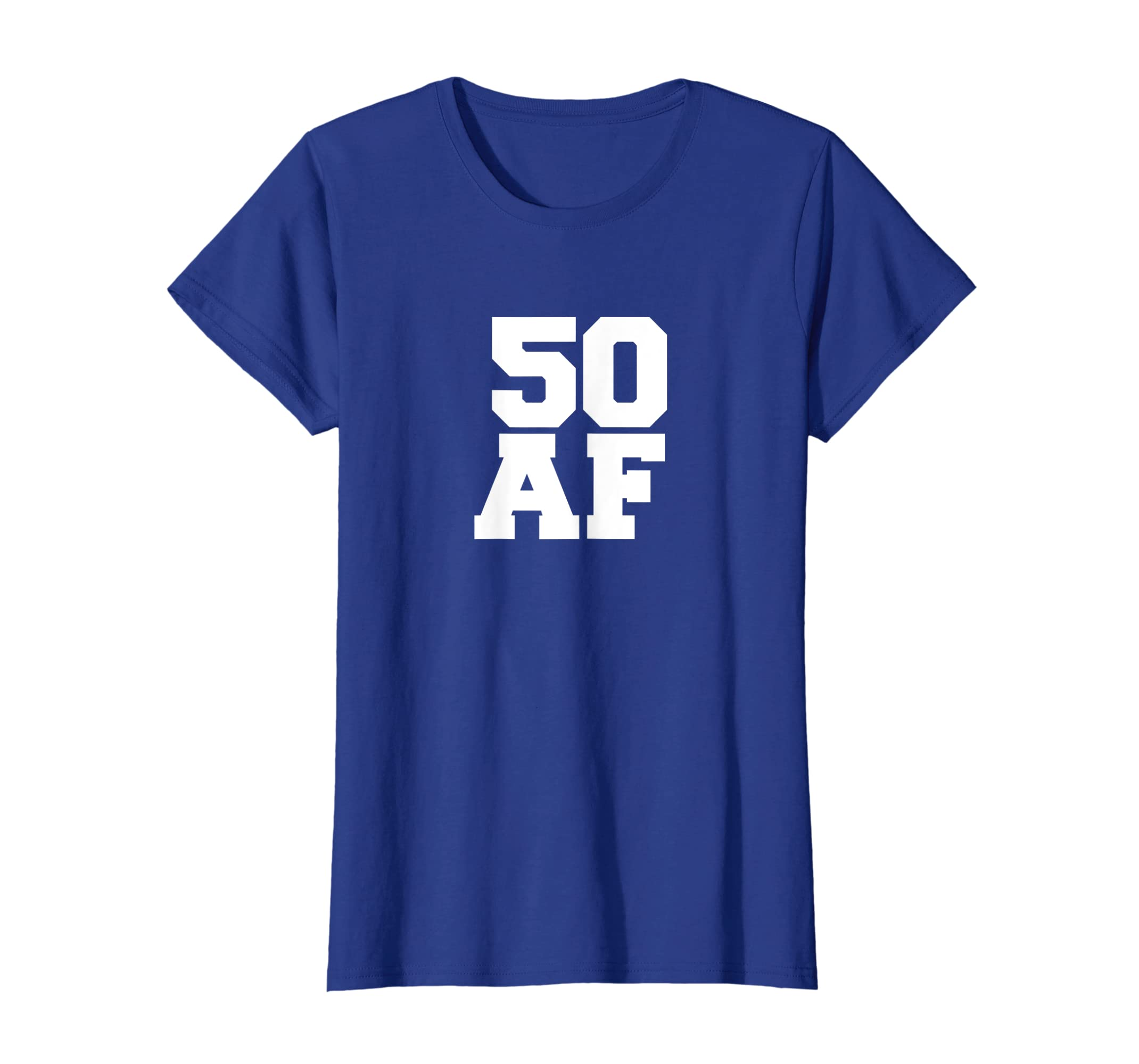 Amazon 50 AF Funny T Shirt Years Old 50th Birthday Party Gift Clothing