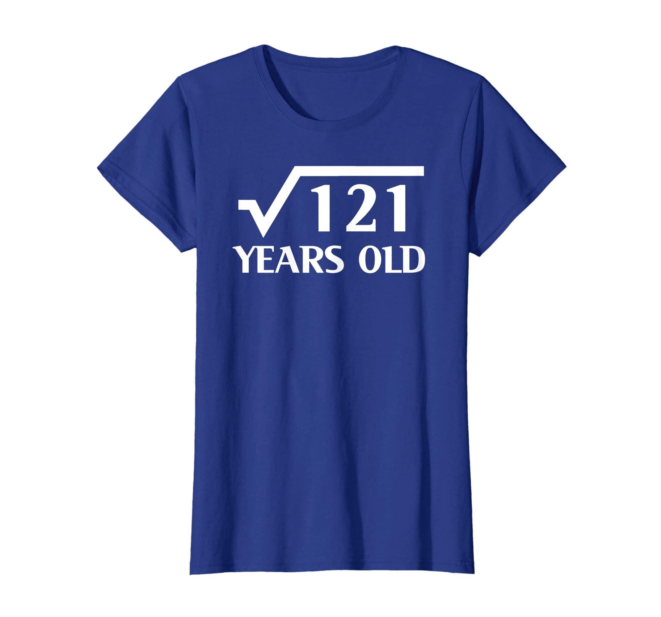9cd8d809c Amazon.com: 11th Happy Birthday Shirt 11 Years Old Square Root of 121:  Clothing