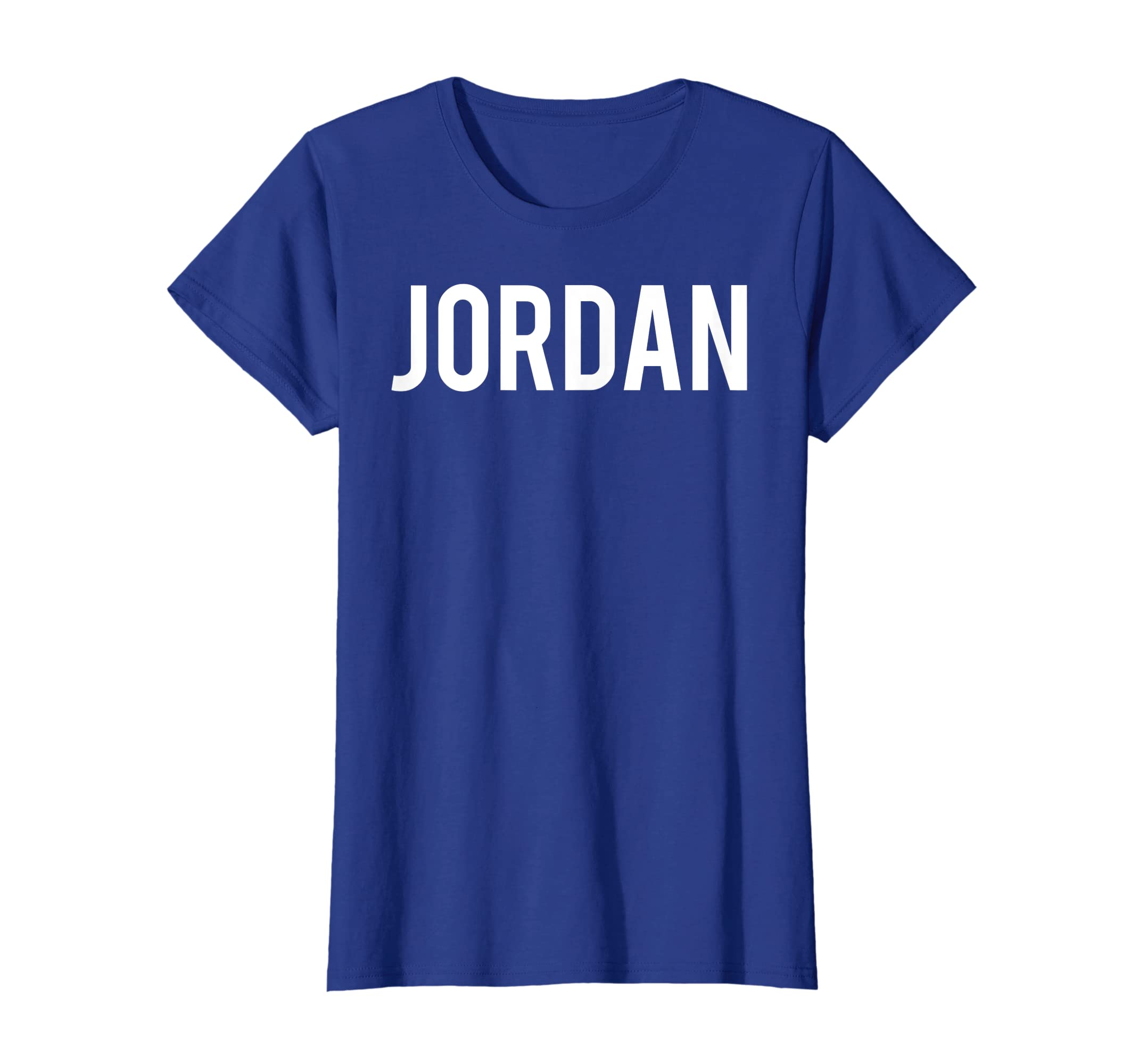 54a8e1b9515ecf Amazon.com  Jordan T Shirt - Cool new funny name fan cheap gift tee   Clothing
