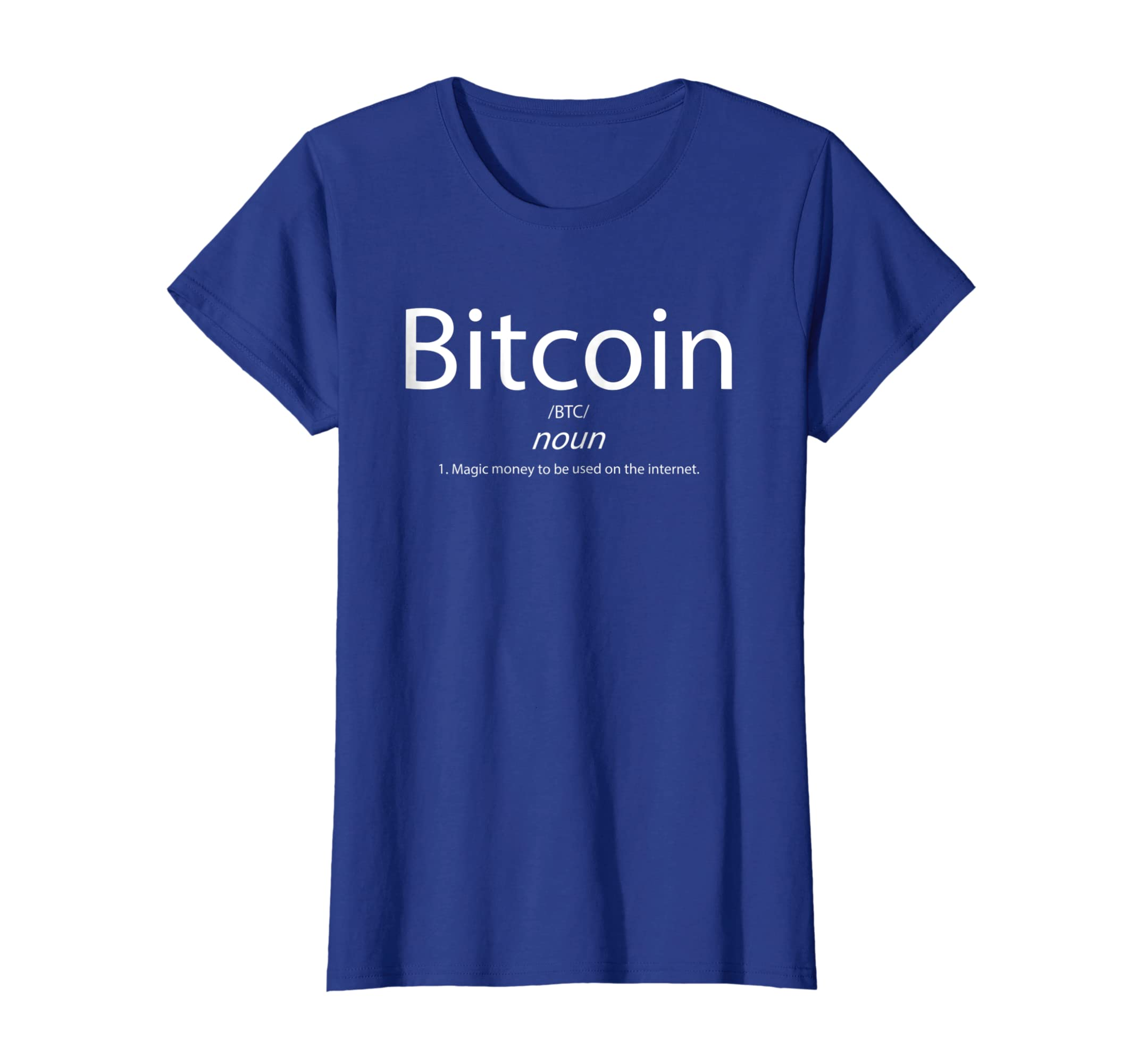 b92a2252eecf Amazon.com: Bitcoin Definition Shirt - Cryptocurrency Blockchain Crypto:  Clothing