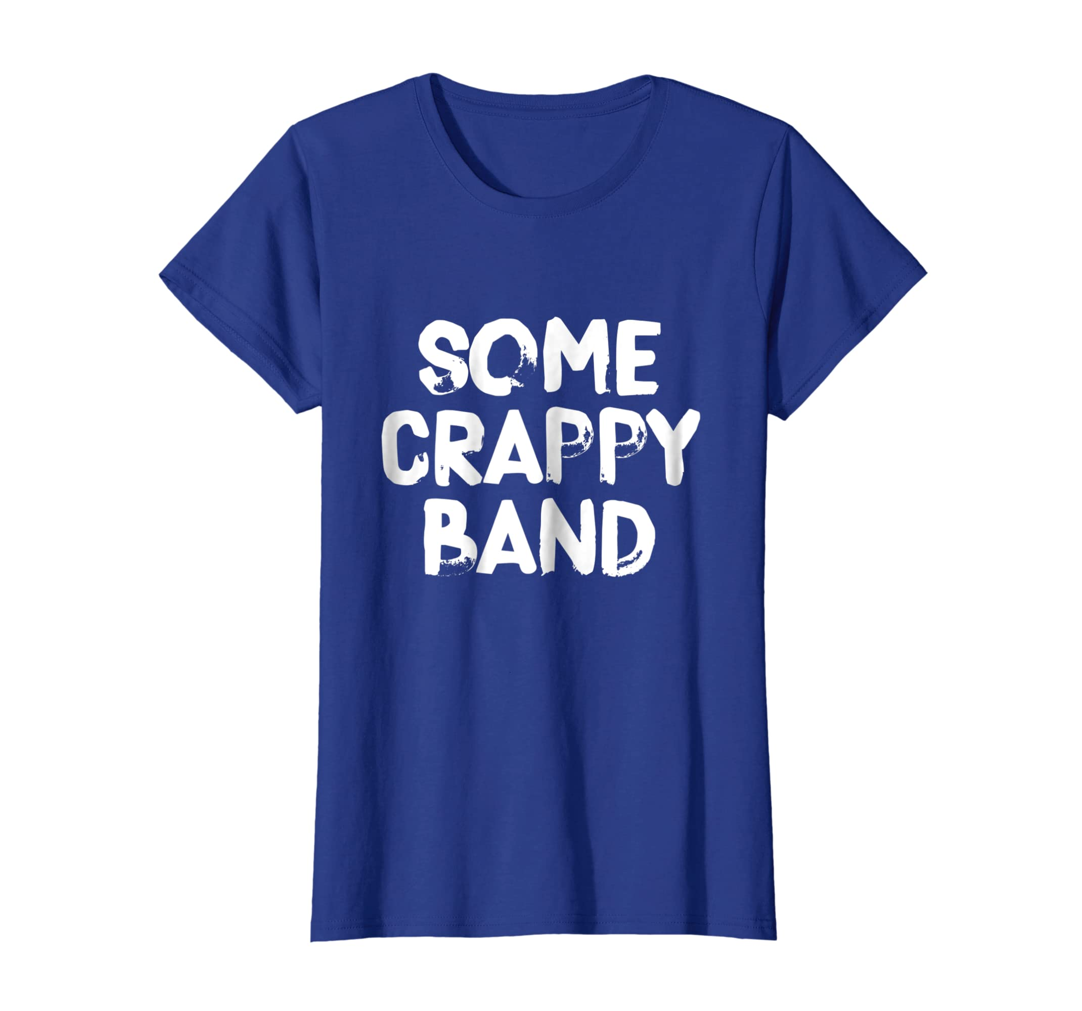 cc1a24ee35382 Amazon.com  Some Crappy Band Funny Concert T-Shirt  Clothing