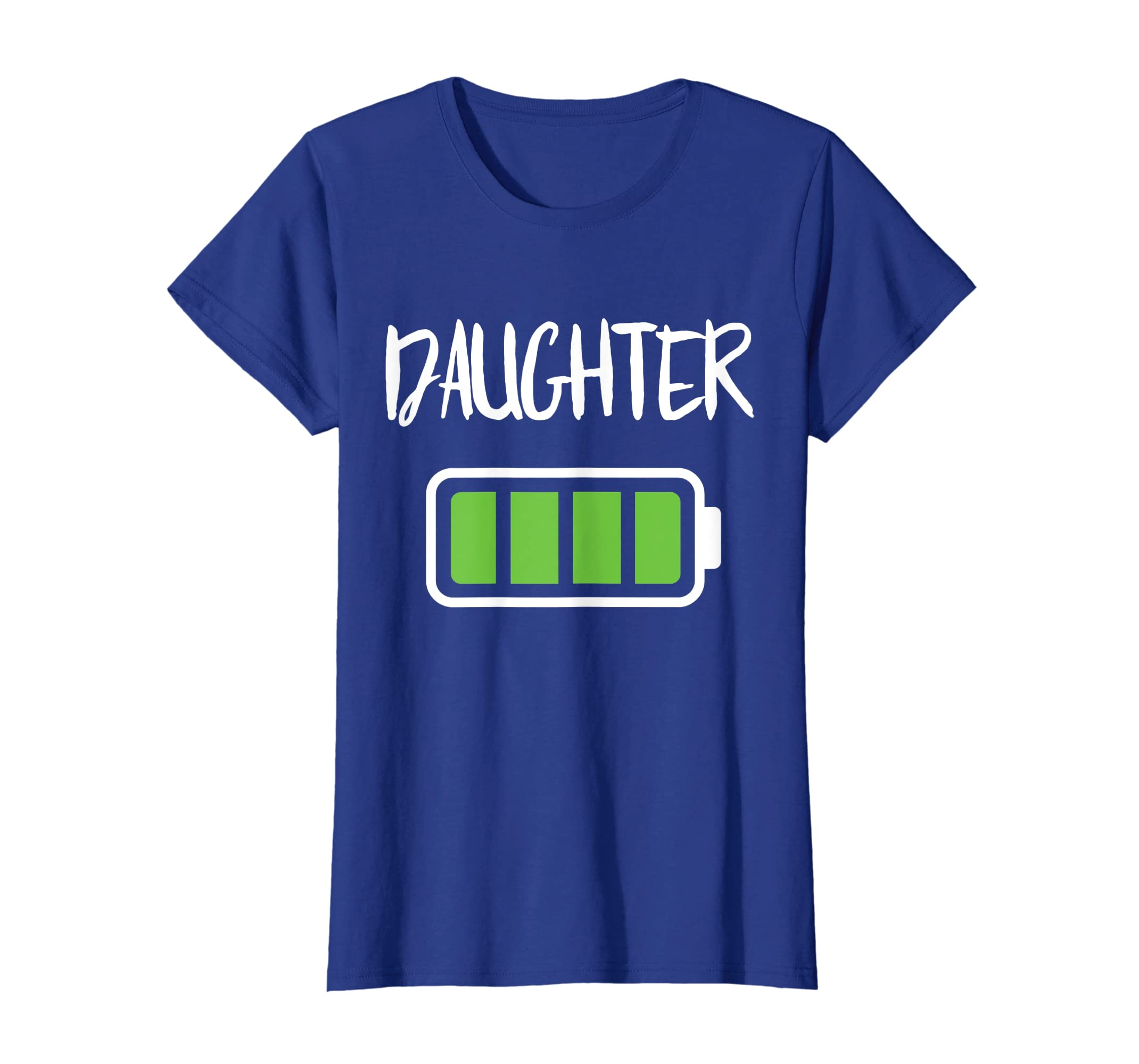 38ddeb7155 Amazon.com: Mommy Daughter Battery T-Shirt Full Battery Energy Shirt:  Clothing