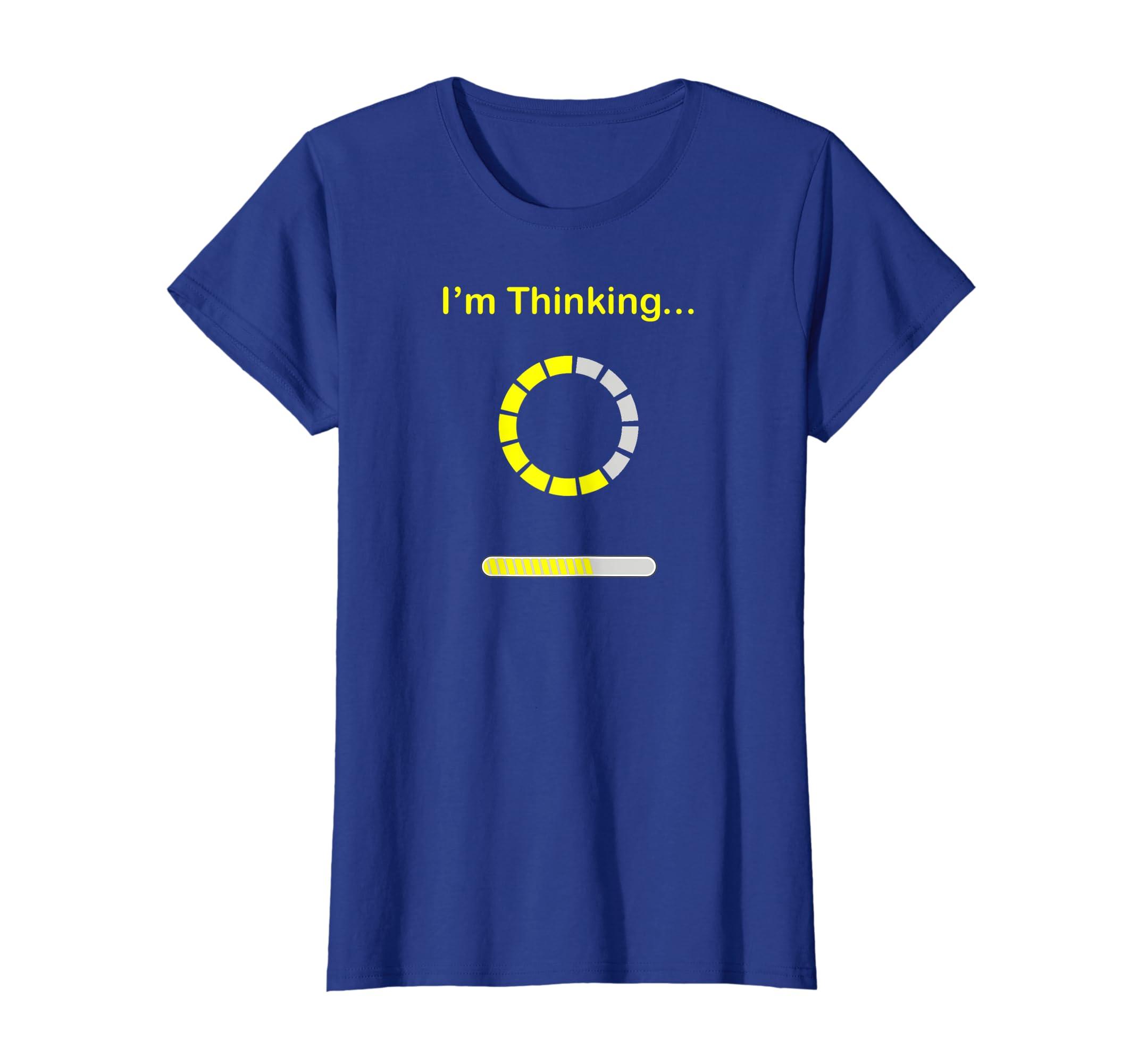 665d90996346 Amazon.com: Im Thinking Geek Nerd Computer Programmer Funny Shirt Gift:  Clothing