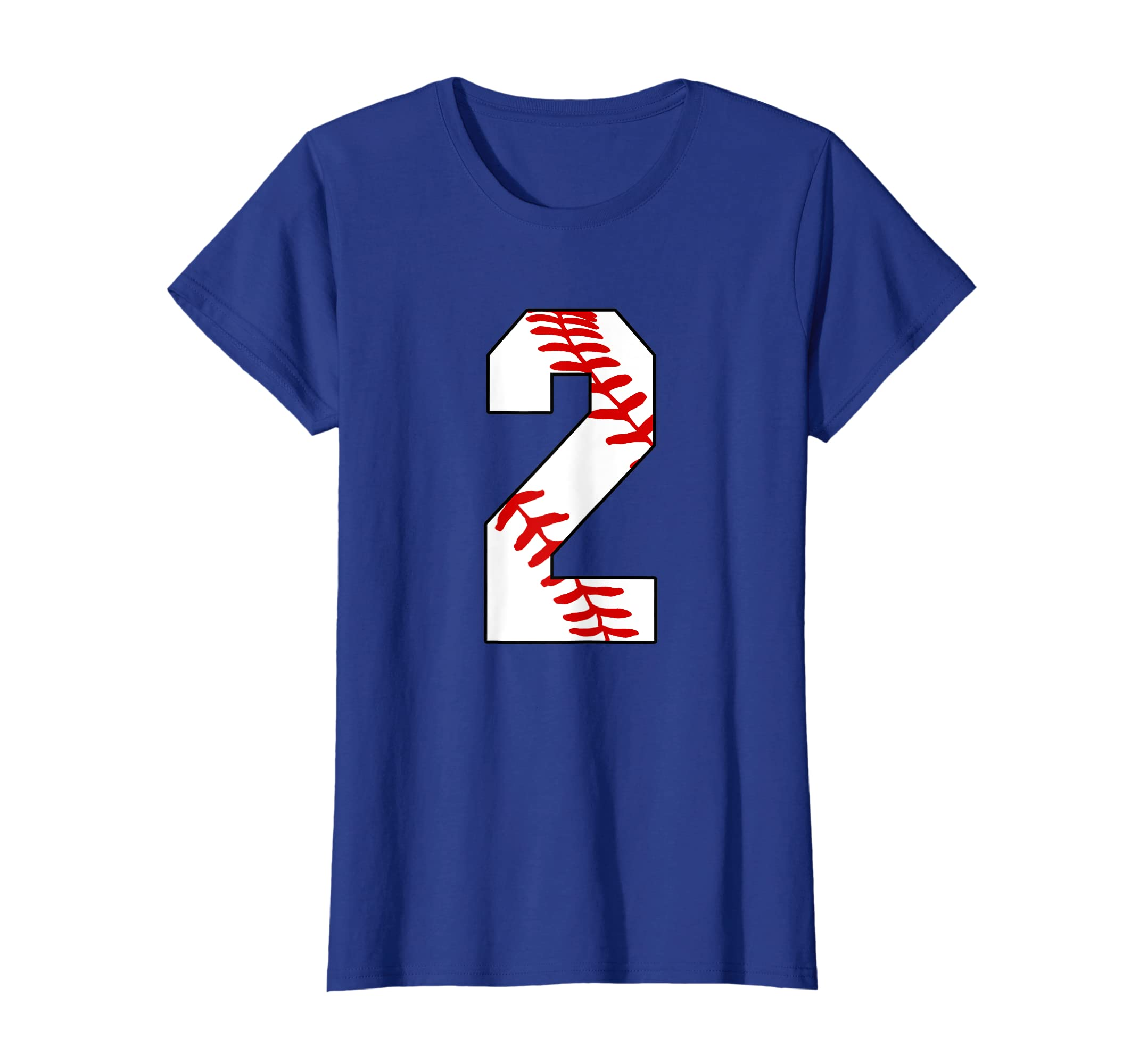 Amazon 2 Baseball Mom Laces 2nd Birthday Two Years Old T Shirt Clothing