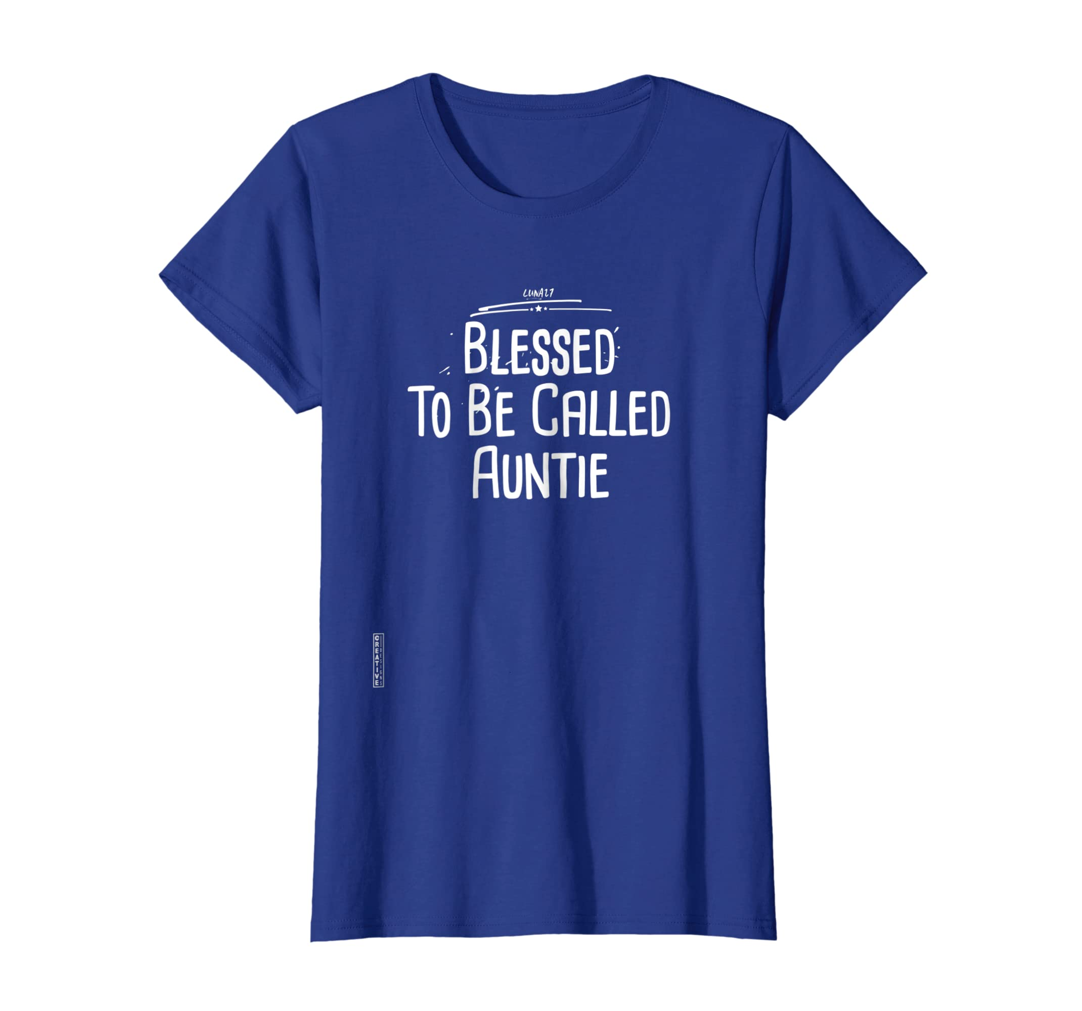 Amazon.com  Womens Blessed To Be Called Auntie Shirt Crazy Aunt Shirt  Sister  Clothing b4e47c0f43