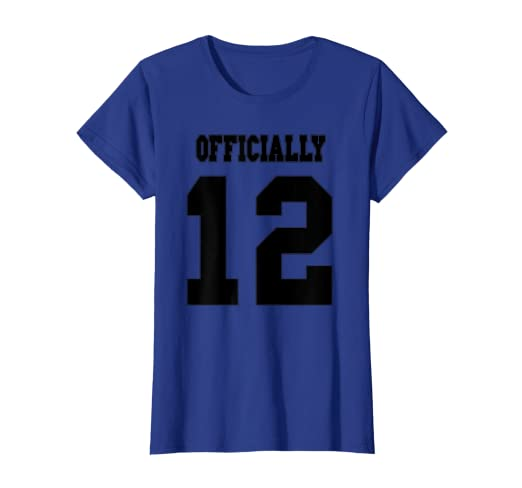 fe84bd6f3b7f Amazon.com  Tween Shirt Officially Twelve Years Old Back to School ...
