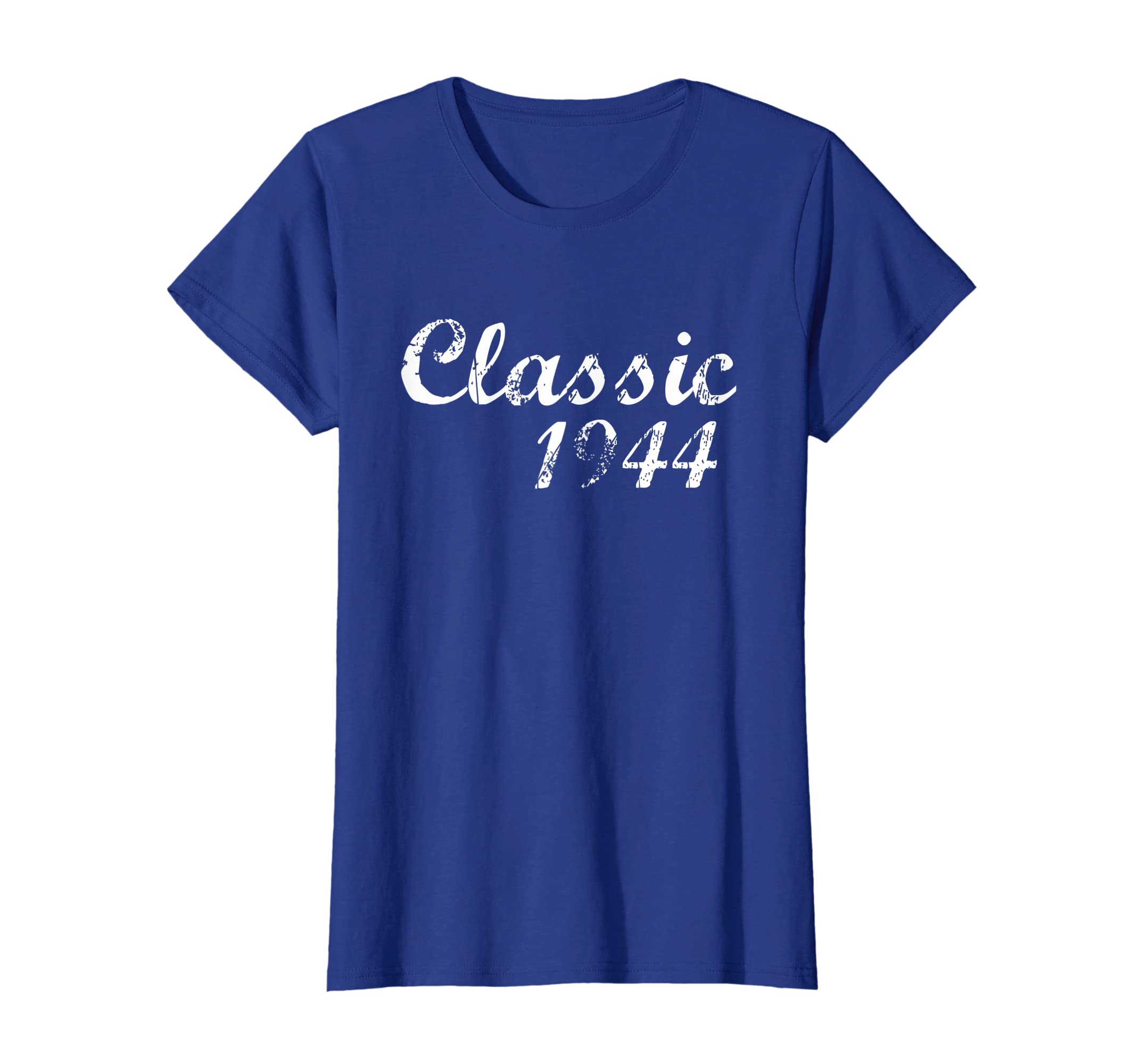 9613a696 Amazon.com: Vintage Classic 1944 T-Shirt 75 Years Old 75th Birthday Gift:  Clothing