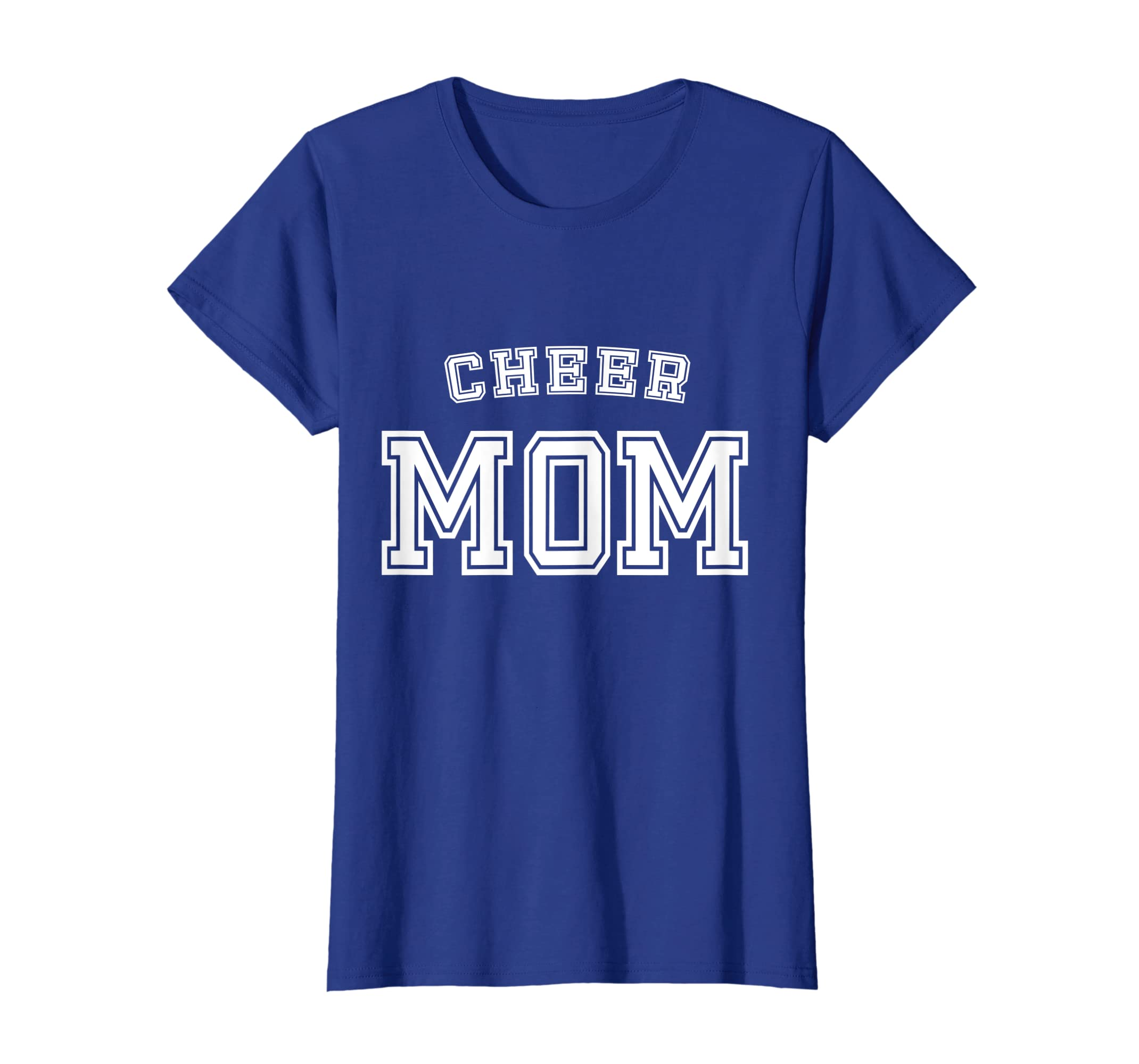 dcc27dda488a Amazon.com: Cheer Mom Team Squad Cheerleader Mother Cute Funny T-Shirt:  Clothing