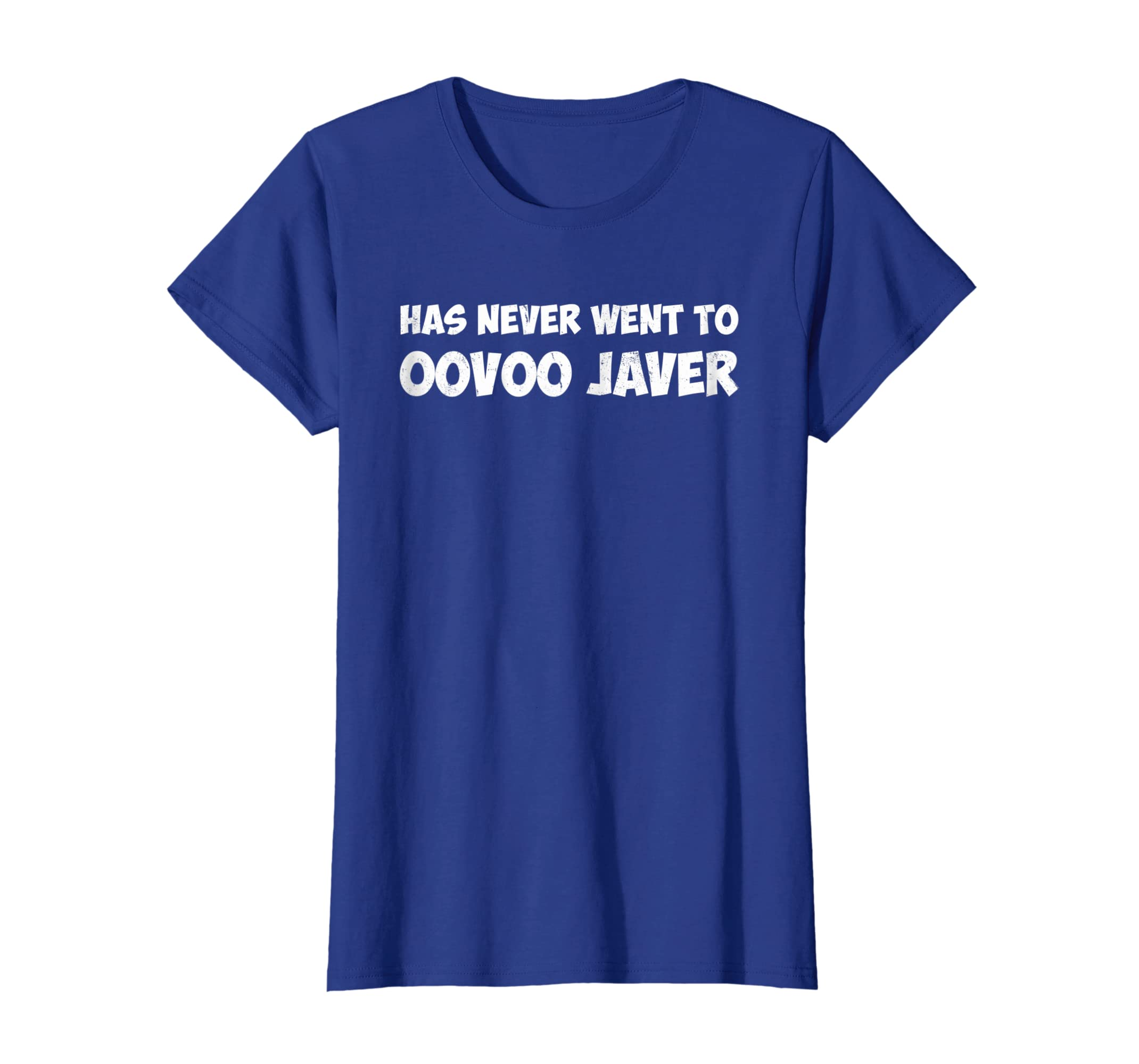 Amazon com: Has Never Went To Oovoo Javer Vine Meme T Shirt: Clothing