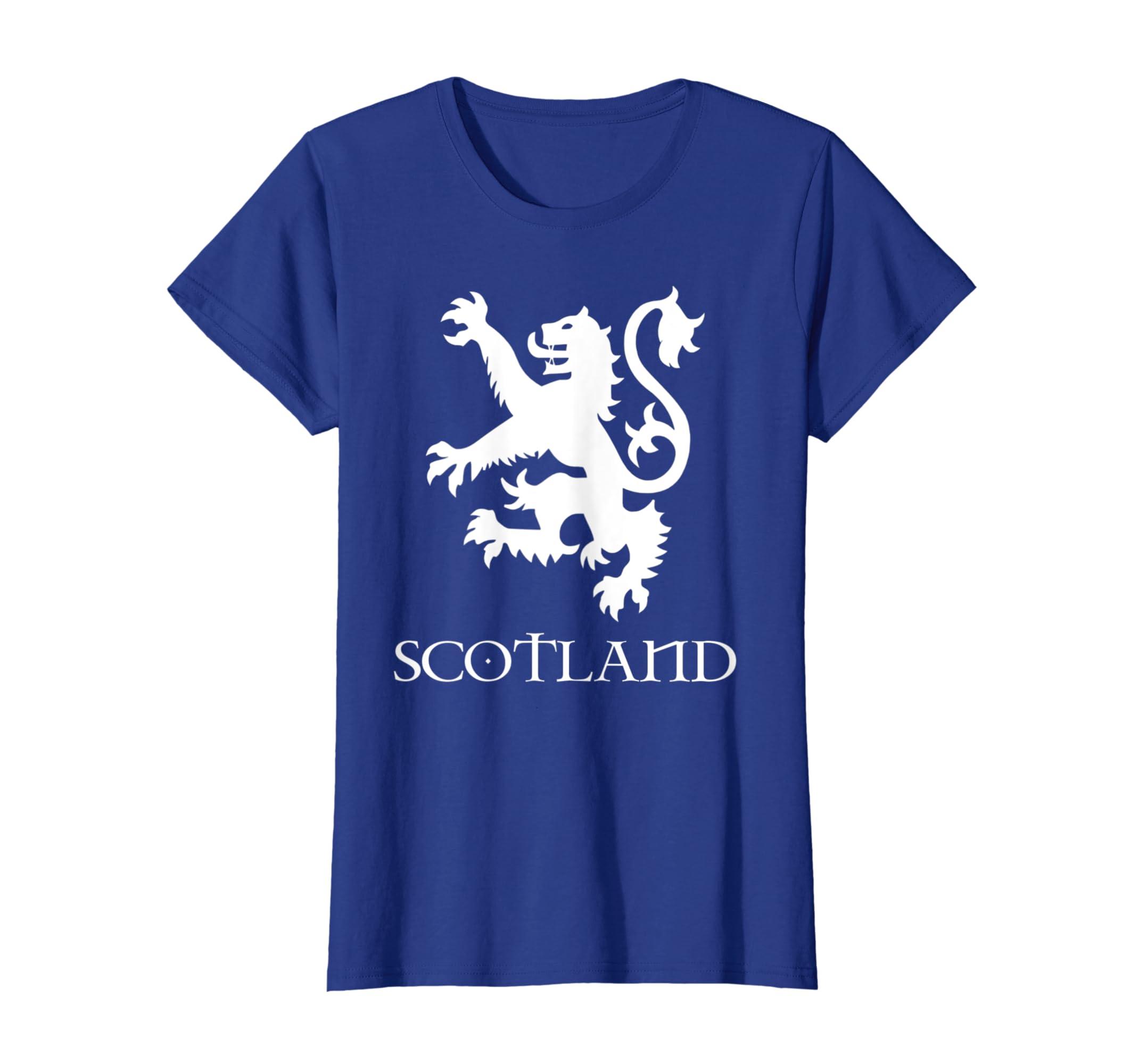 bbb9f3d56 Amazon.com: Lion Rampant Scotland Scottish T shirt Mens Womens: Clothing