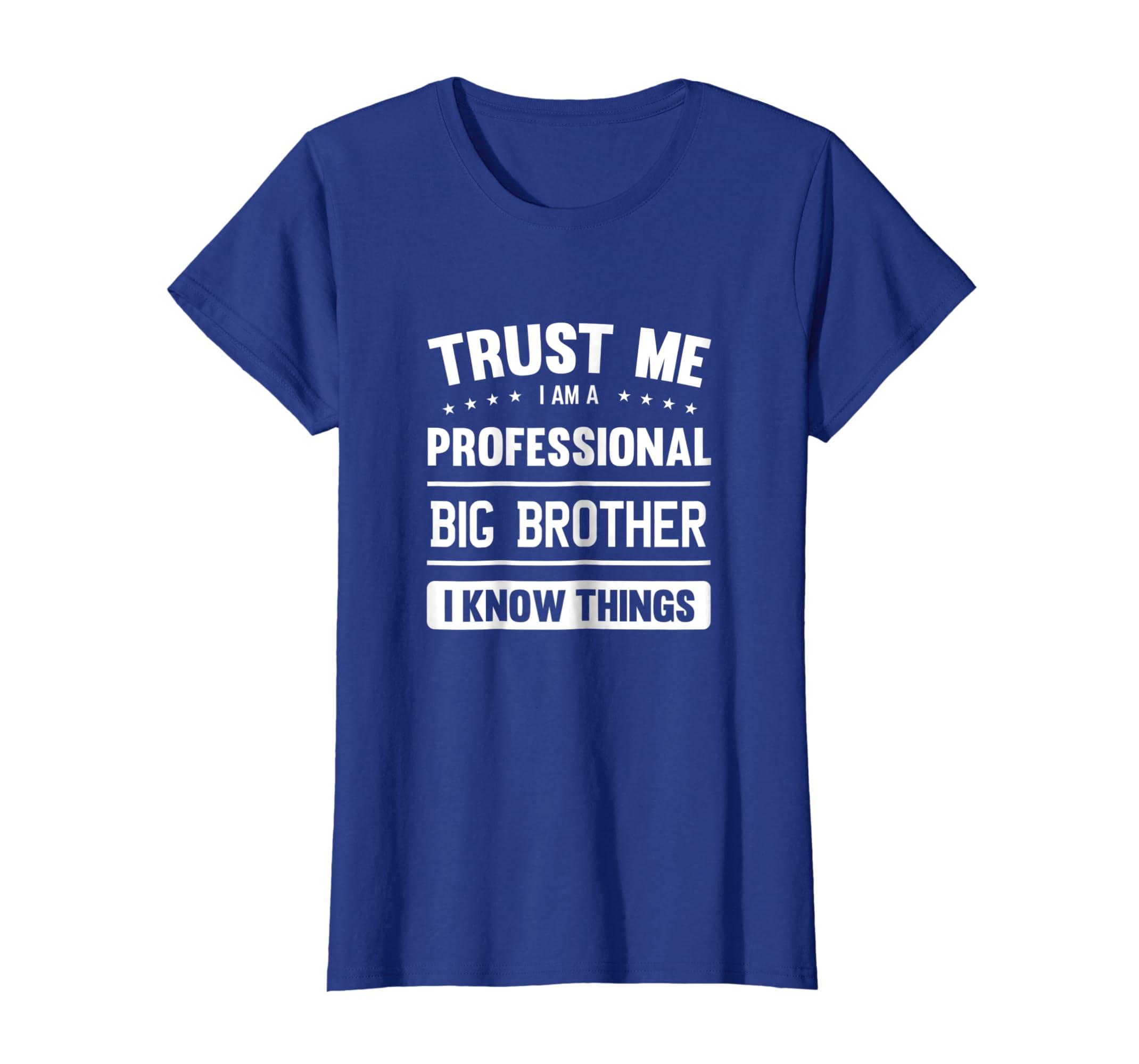 Amazon Big Brother T Shirt Gift Idea Professional Clothing