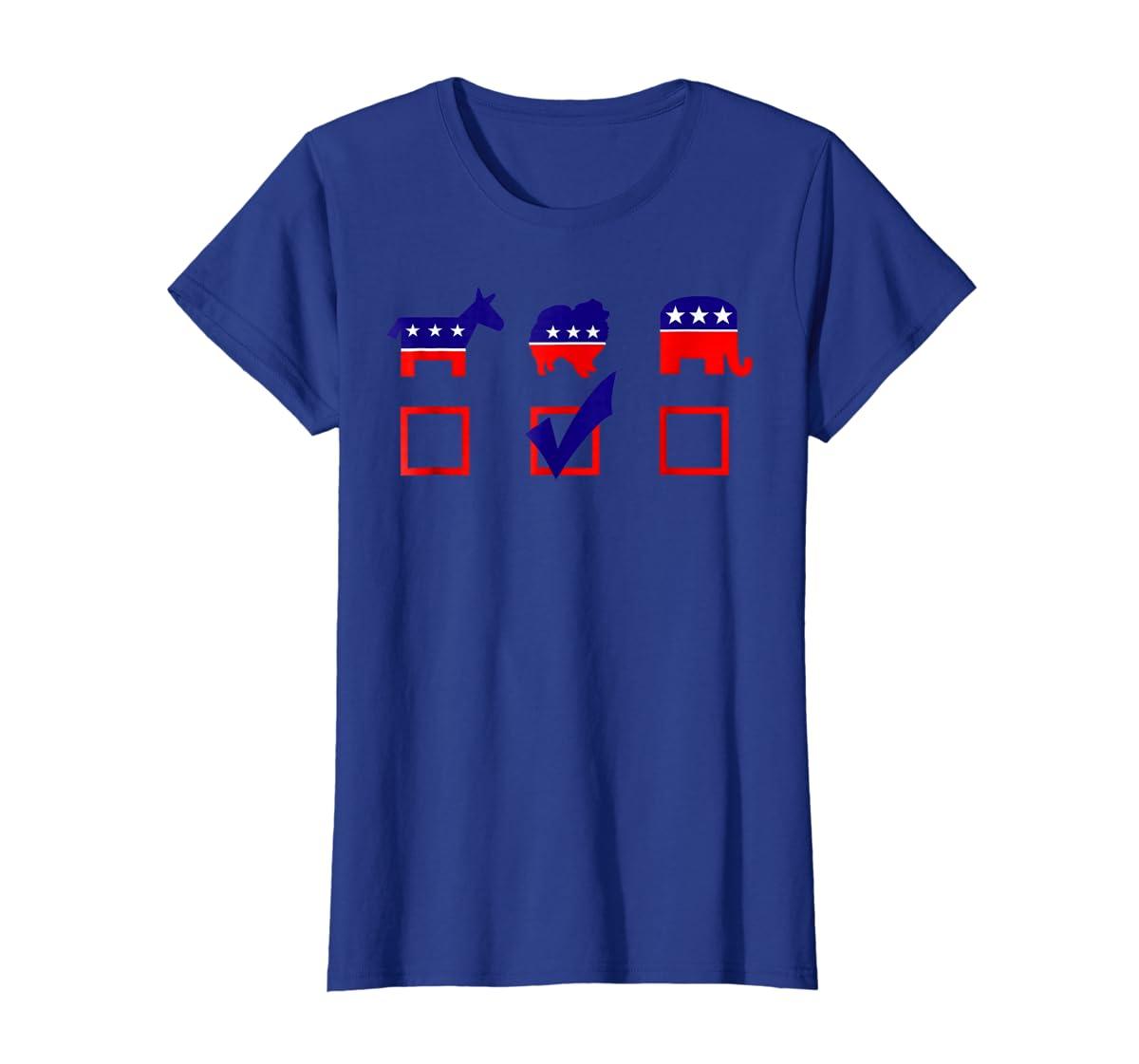 Vote Pomeranian For President T-shirt Cool Dog Lover Shirt-Women's T-Shirt-Royal