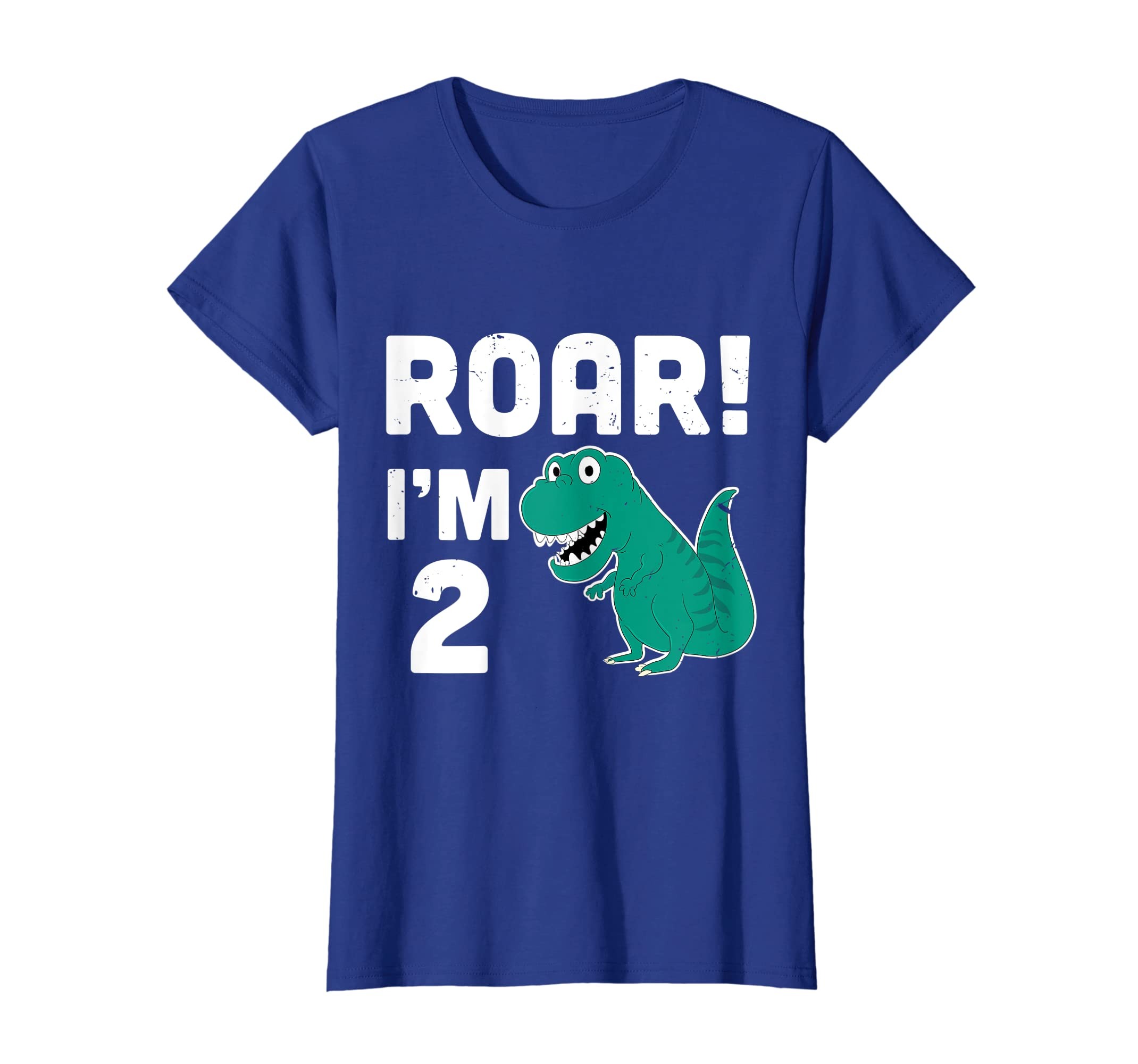 Amazon Roar Im 2 Years Old Birthday Shirt Cute Dinosaur T Clothing