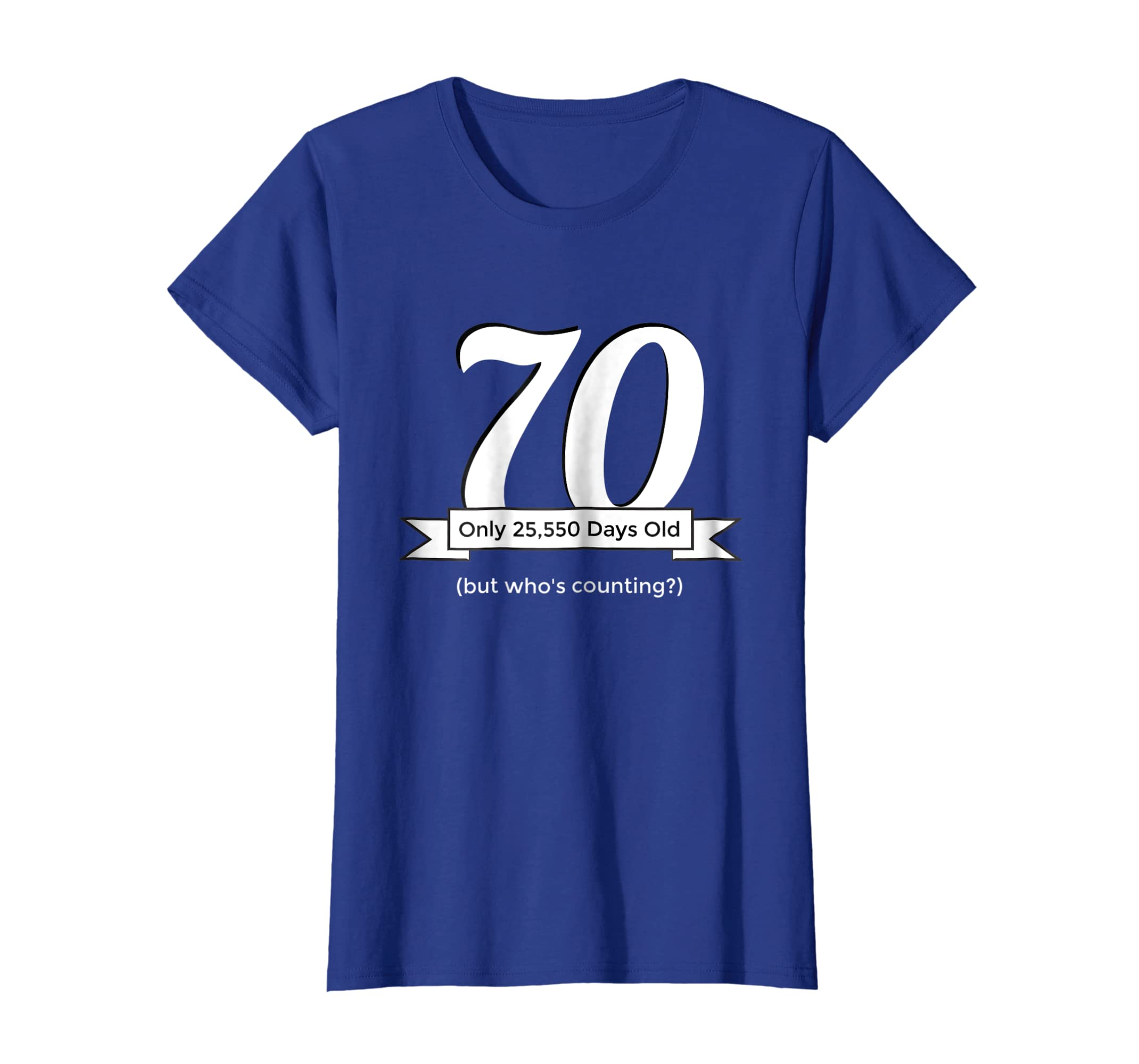 Amazon Funny Happy 70th Birthday T Shirt