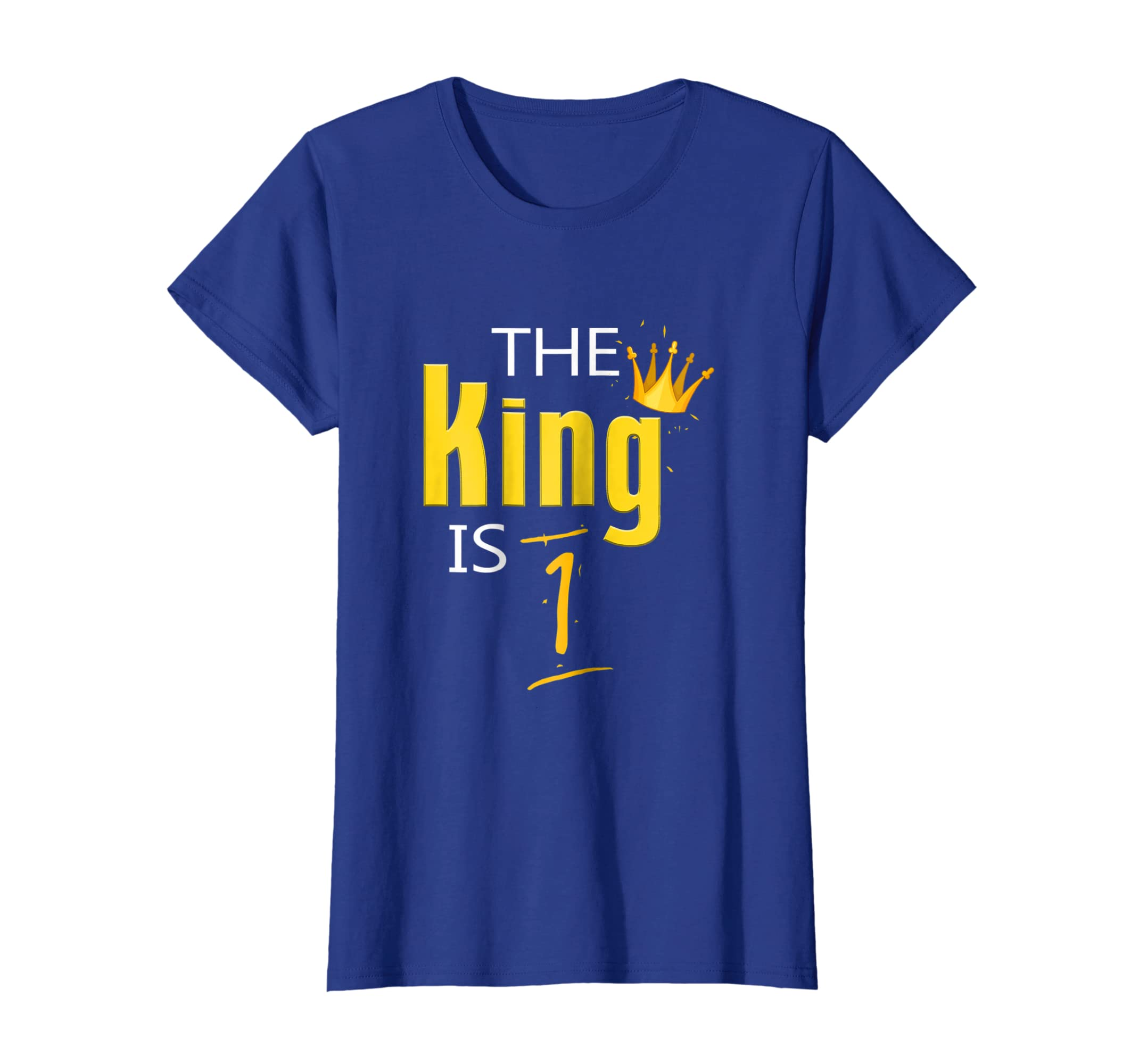 Amazon The King Is 1 Year Old T Shirt 1st Birthday Gift Clothing
