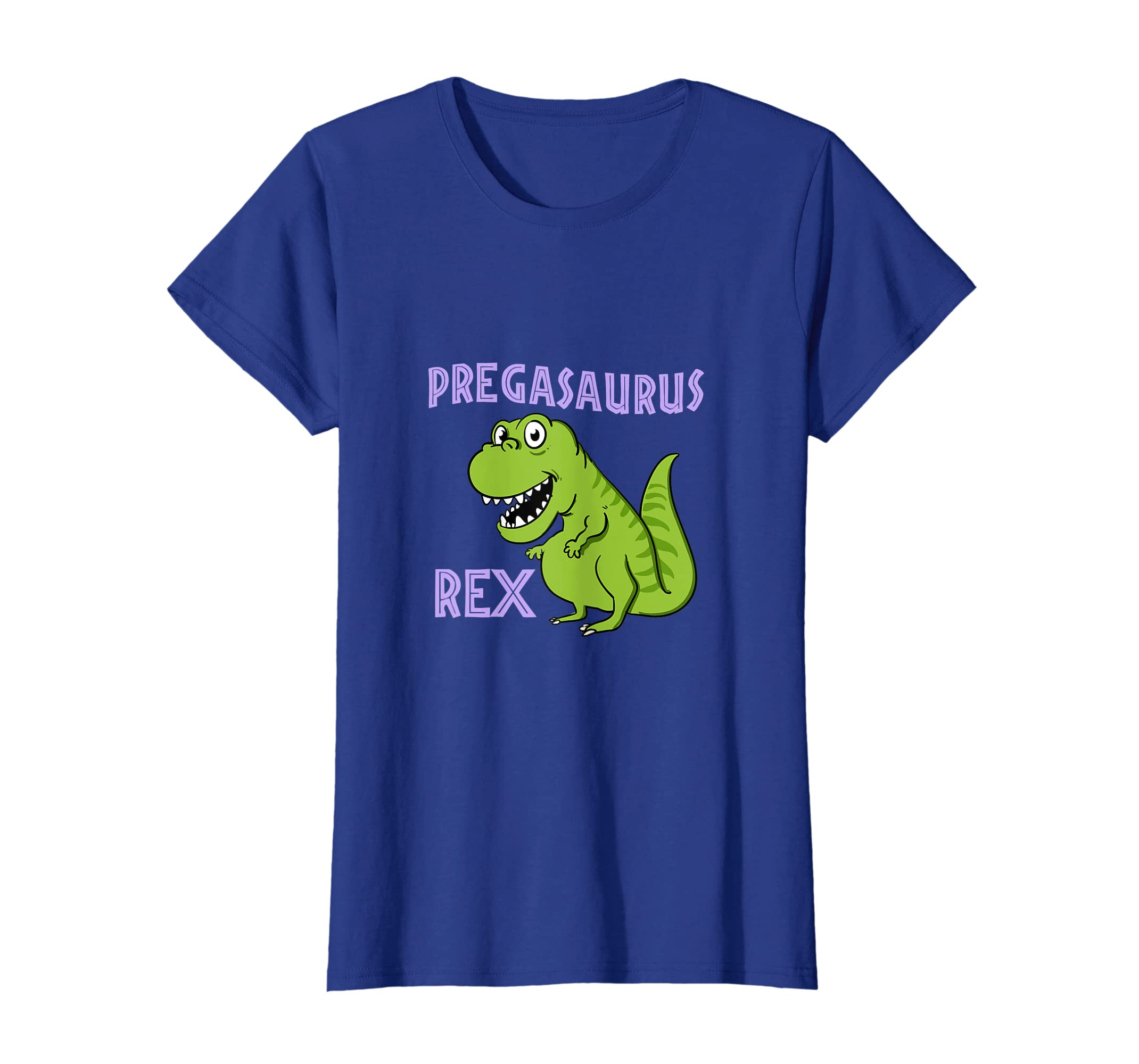 ece49c41a Amazon.com: Womens Funny Pregasaurus Rex T-Shirt Mom To Be Pregnancy Gift  Tee: Clothing