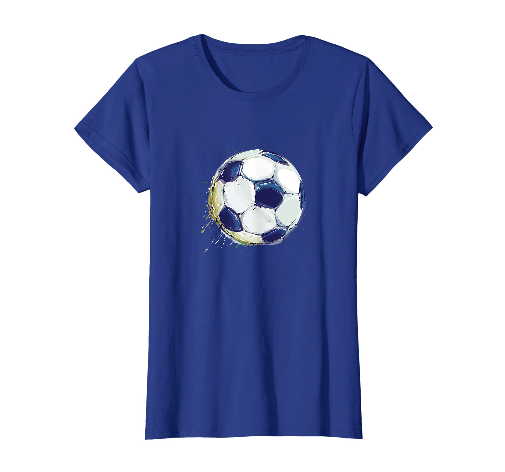 a4b87afe3 Amazon.com: Athletic Soccer Football Ball Sports Player T-Shirt: Clothing