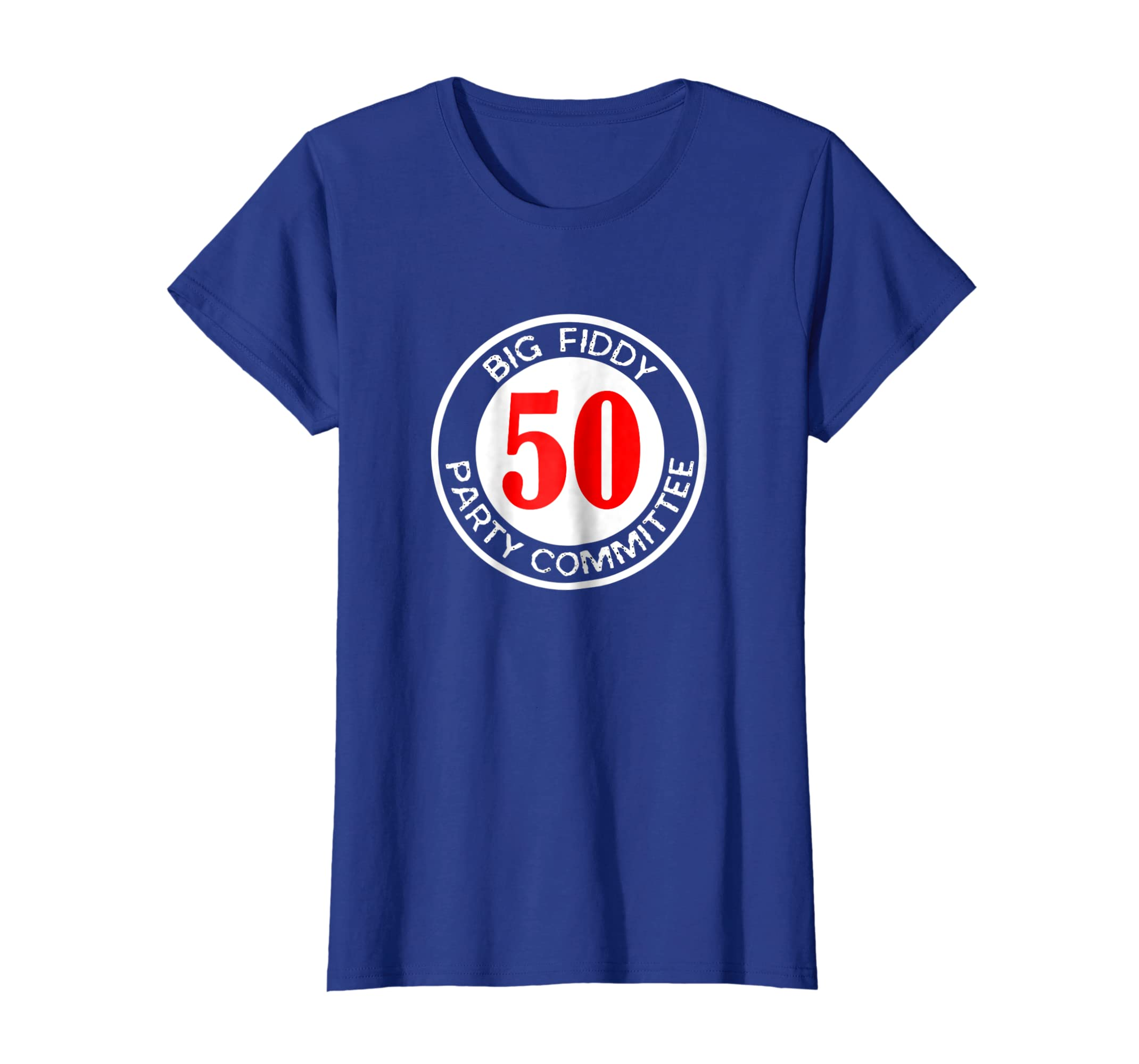 Amazon Big Fiddy Party Committee Funny 50th Fiftieth Birthday Shirt Clothing