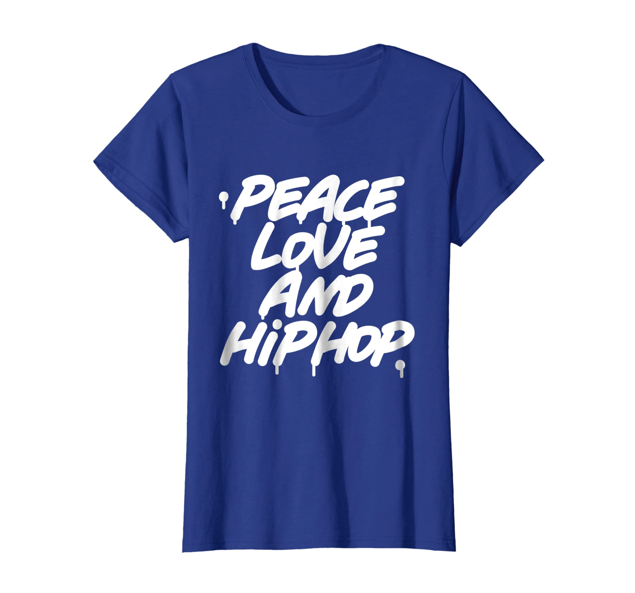 Amazon com peace love and hip hop shirt old school 90s graffiti tee clothing